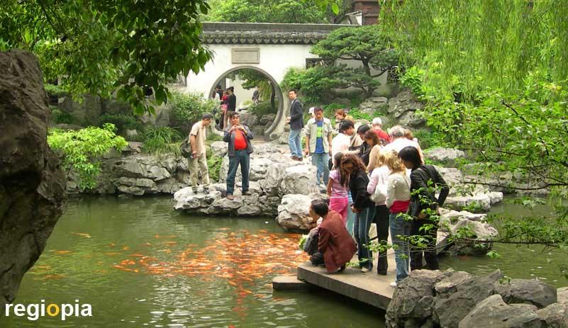 Parks and Gardens in Shanghai + regiopia
